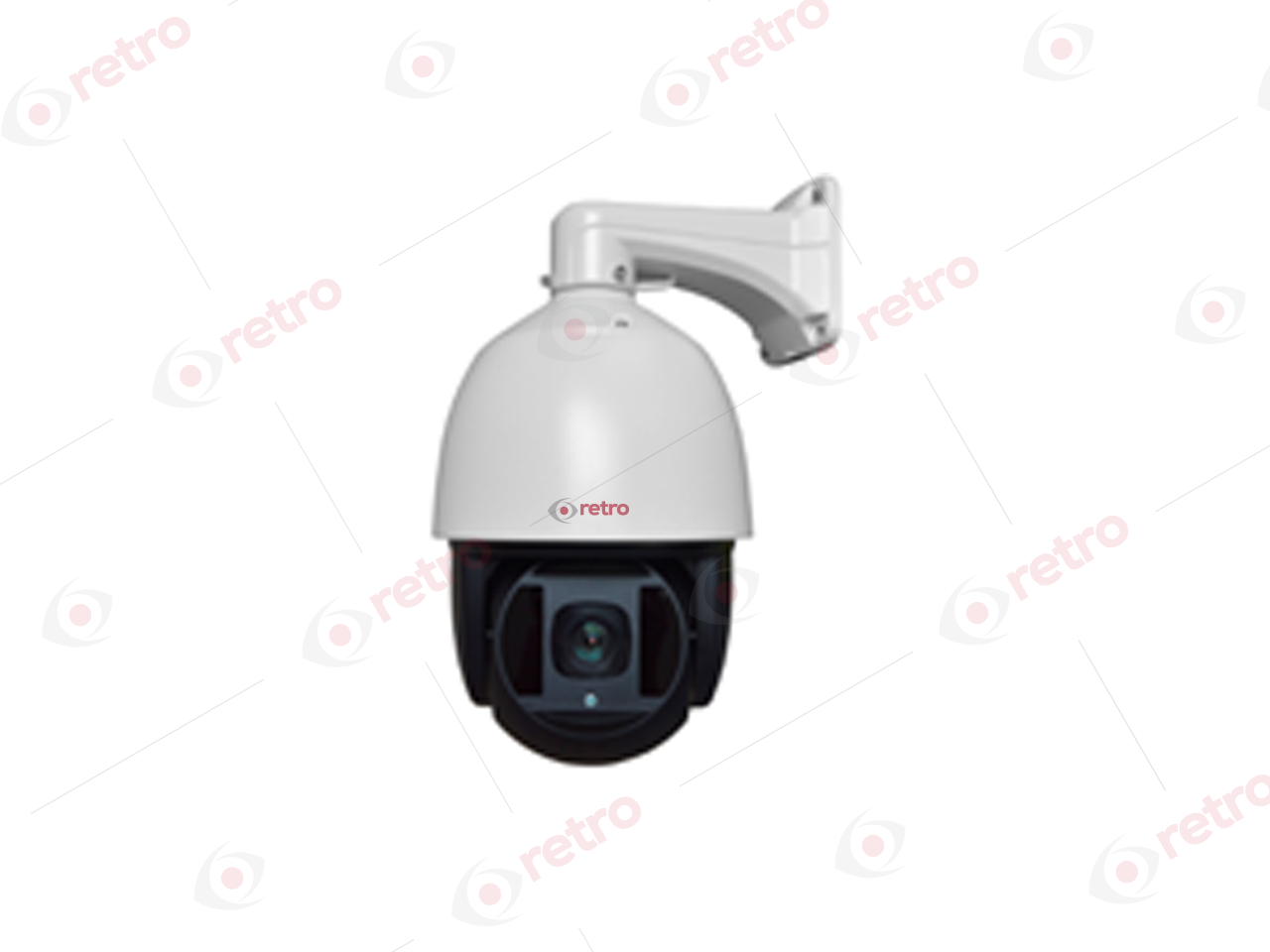 RT-4093 AHD 1.3 MEGAPİKSEL 960P LAZER LED SPEED DOME AHD KAMERA