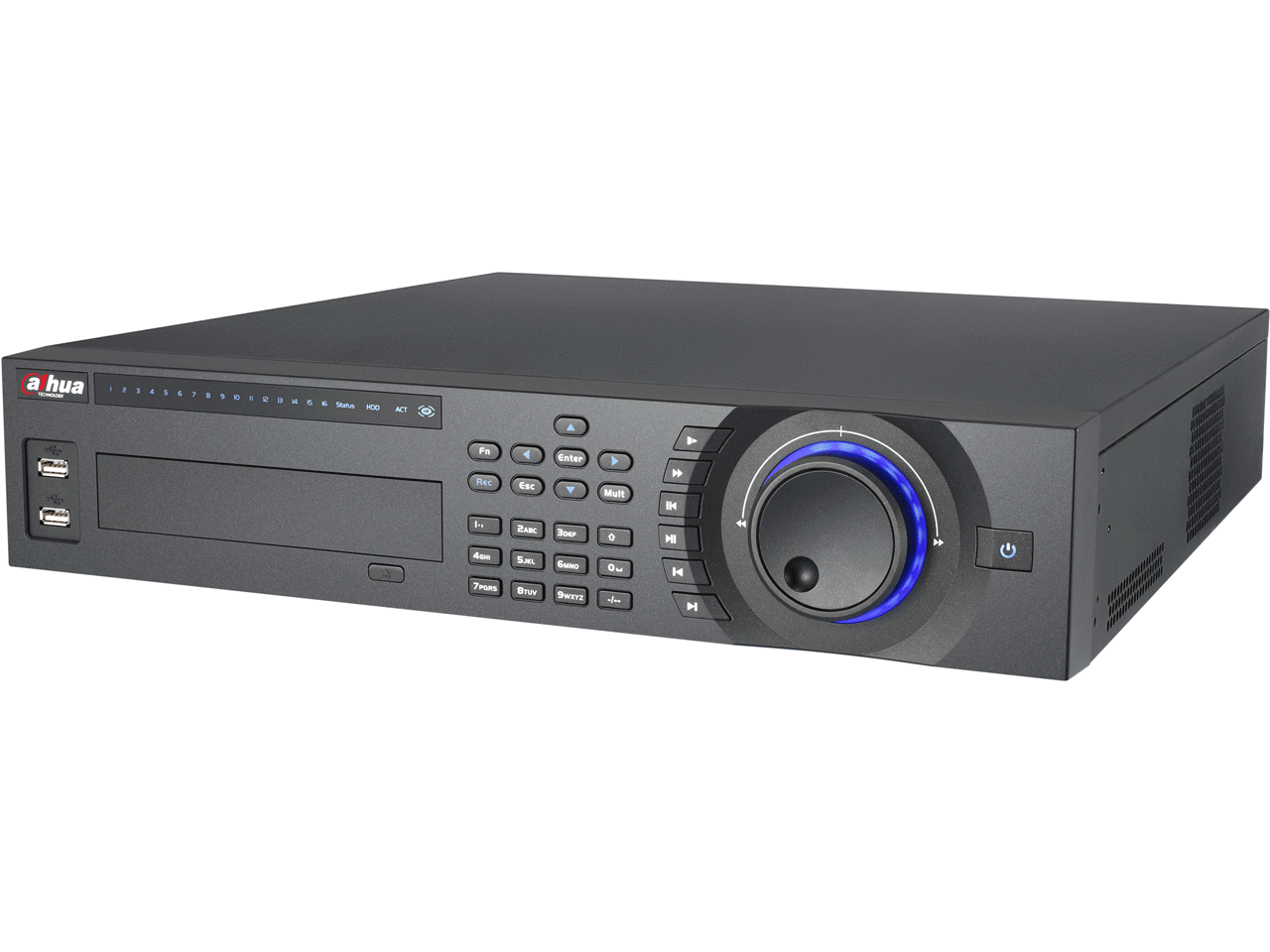 DAHUA HCVR7816S-URH 16 KANAL 1080P TRİBRİD ( HDCVI + ANALOG + IP) 2U HOT-SWAP HDD DVR