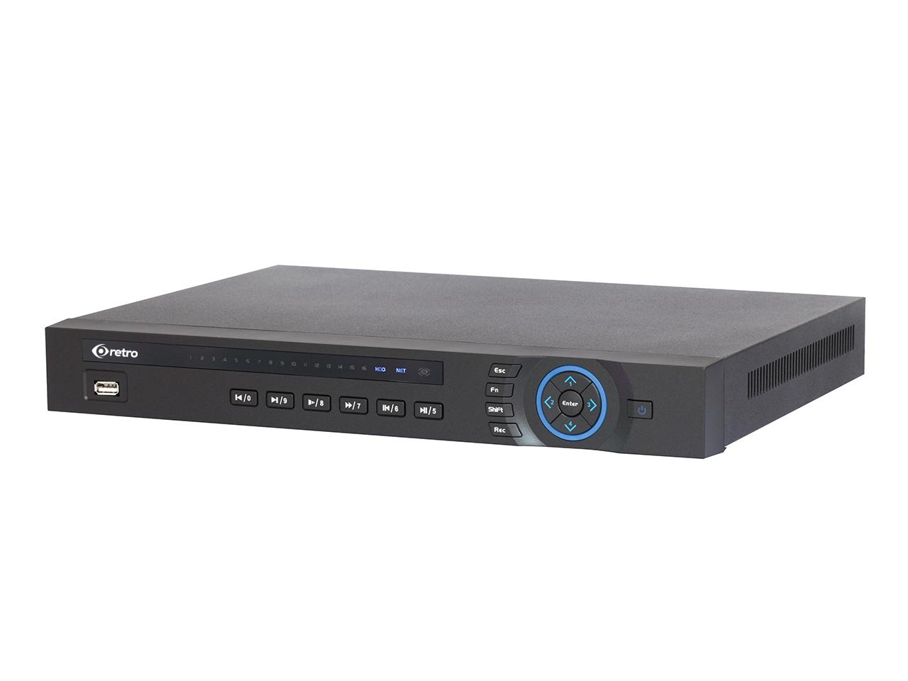 RT-7008A 8 KANAL HD 1U NVR